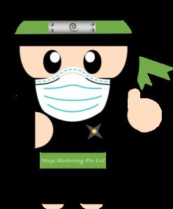 Ninja-wearing-mask-covid-19